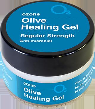Olive healing gel